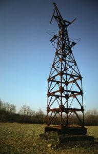 Pylône près du lieu dit Haed