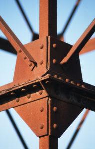 Détail de la construction métallique